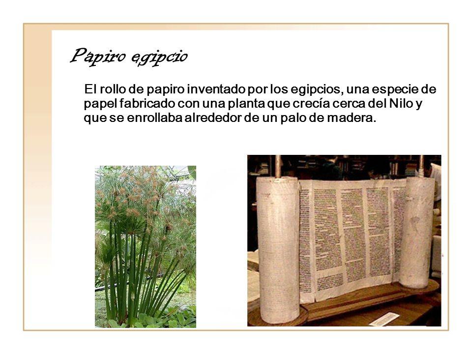 Papiro egipcio