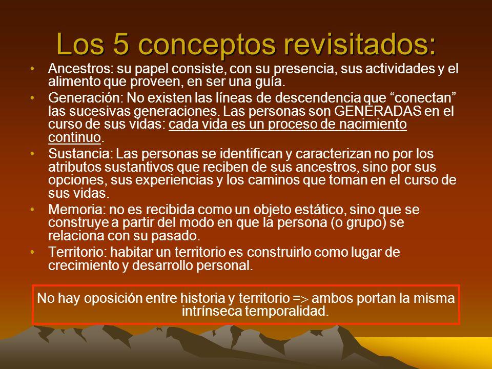 Los 5 conceptos revisitados: