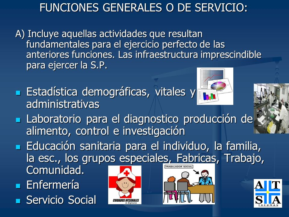 Estadística demográficas, vitales y administrativas
