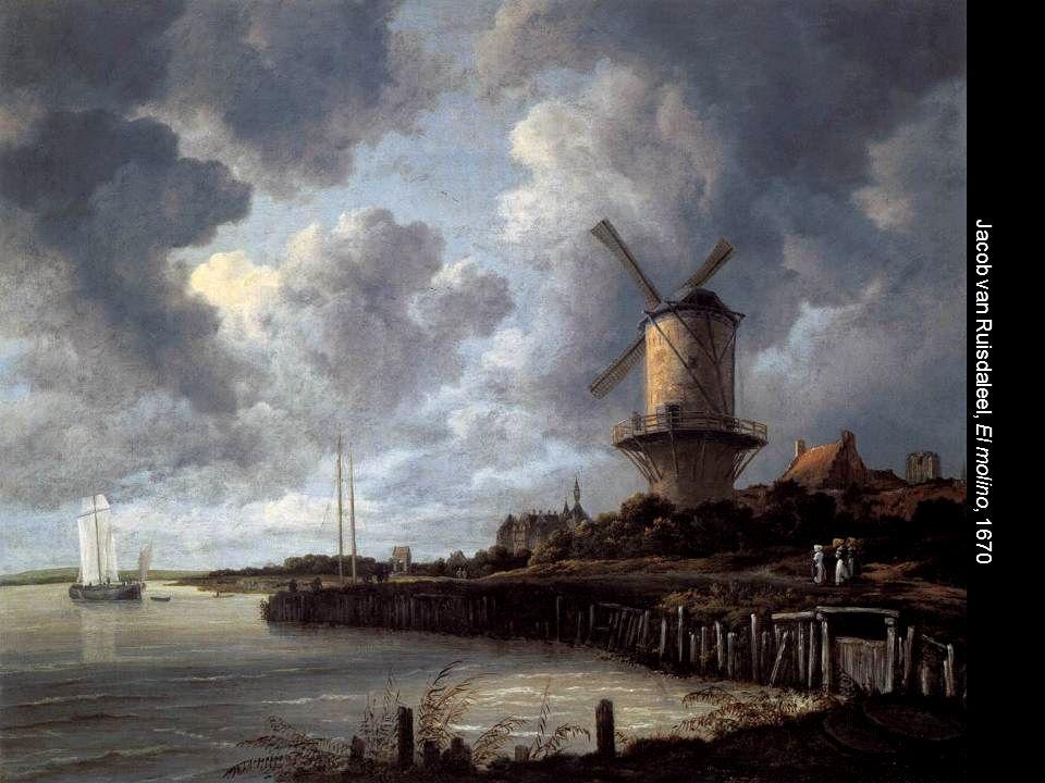 Jacob van Ruisdaleel, El molino, 1670