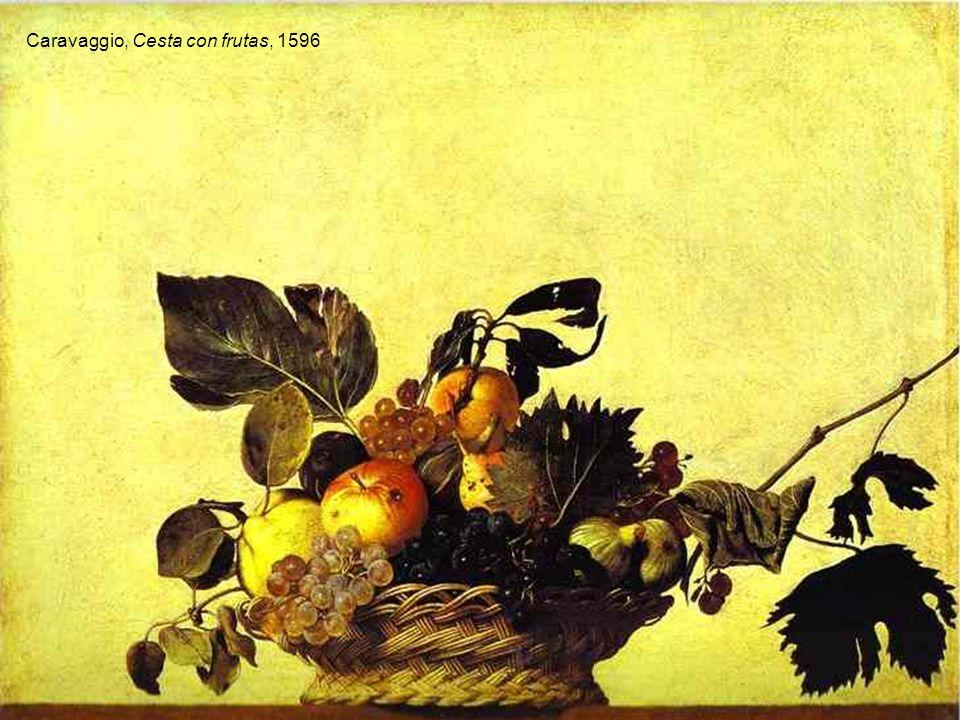 Caravaggio, Cesta con frutas, 1596