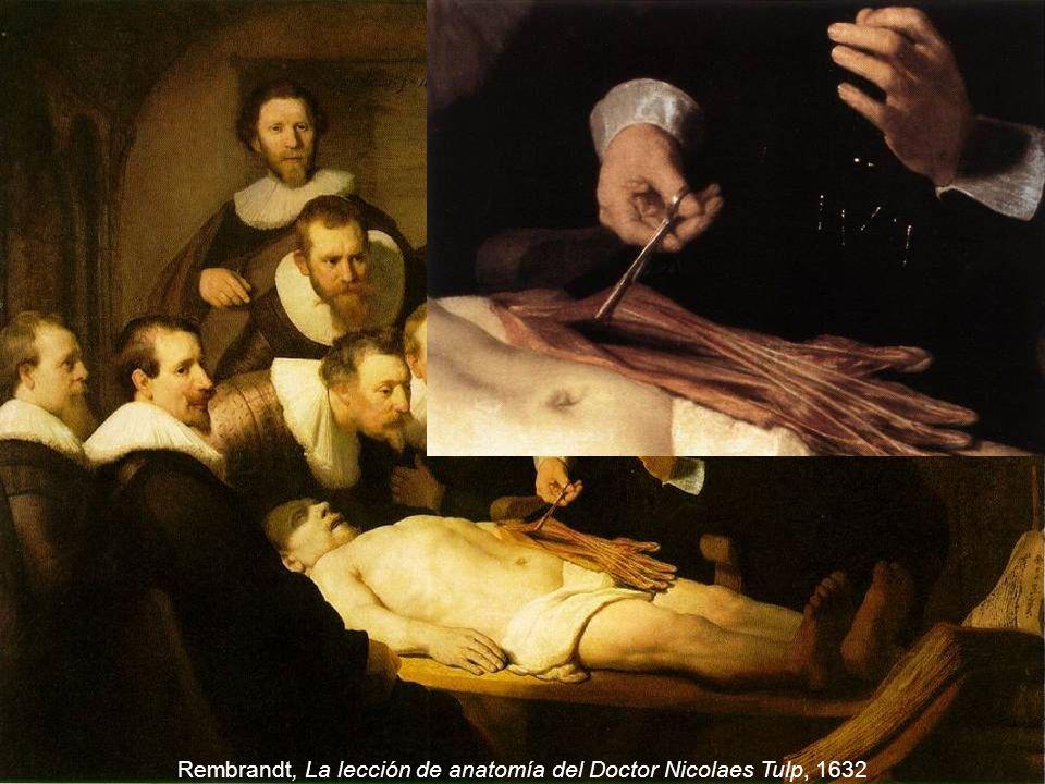 Rembrandt, La lección de anatomía del Doctor Nicolaes Tulp, 1632