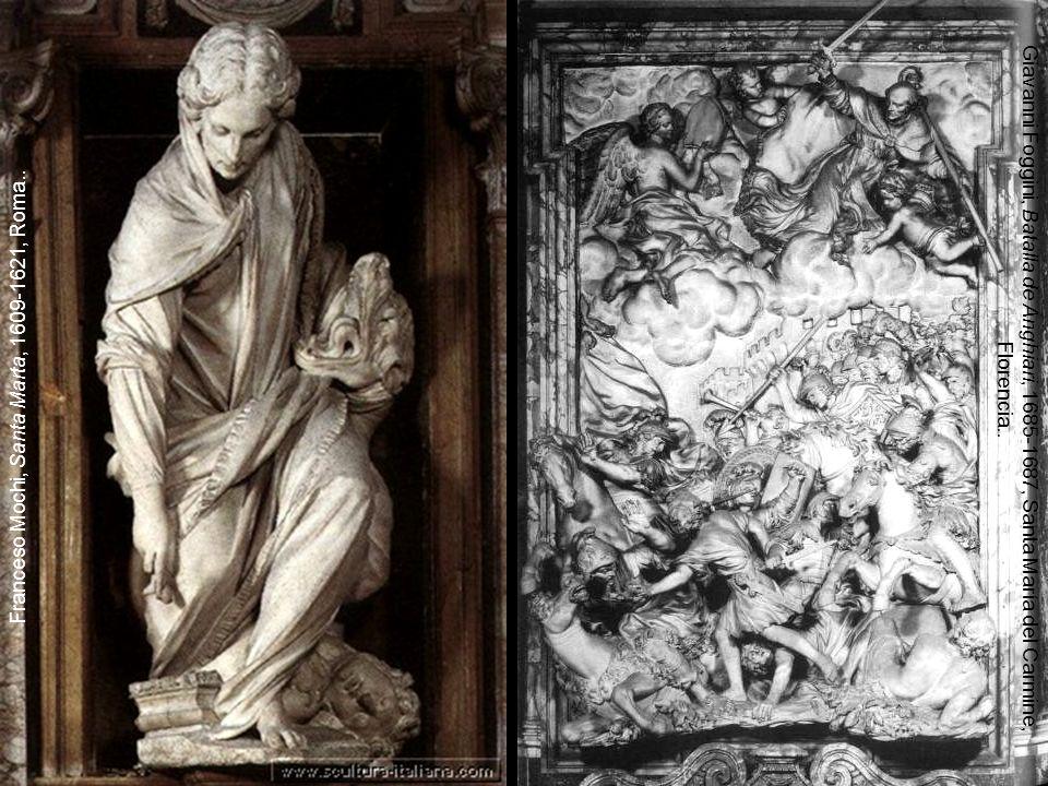 Franceso Mochi, Santa Marta, 1609-1621, Roma..