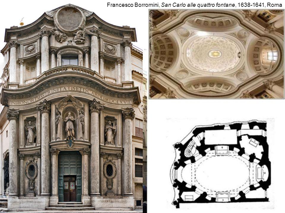 Francesco Borromini, San Carlo alle quattro fontane, 1638-1641, Roma