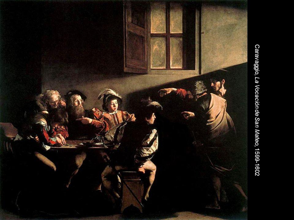 Caravaggio, La Vocación de San Mateo, 1599-1602