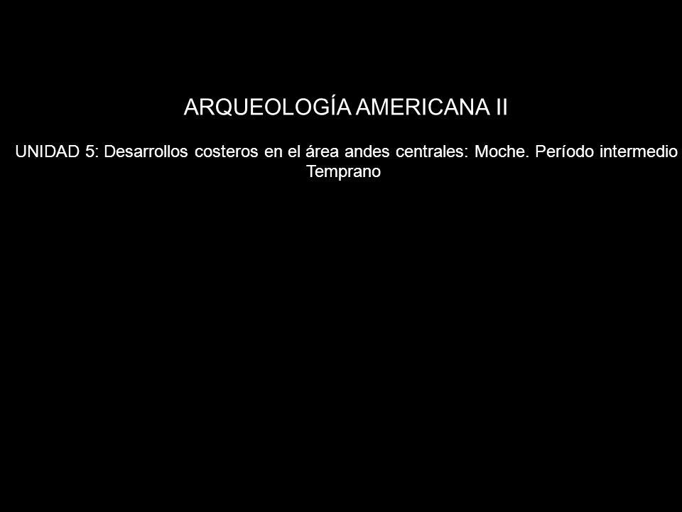 ARQUEOLOGÍA AMERICANA II