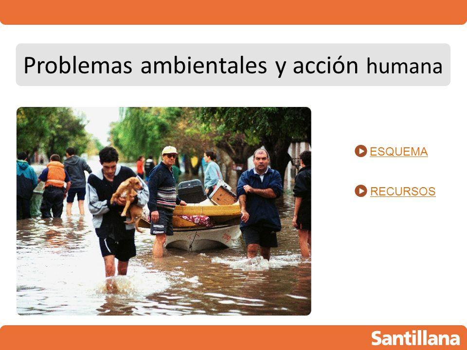 Problemas ambientales y acción humana