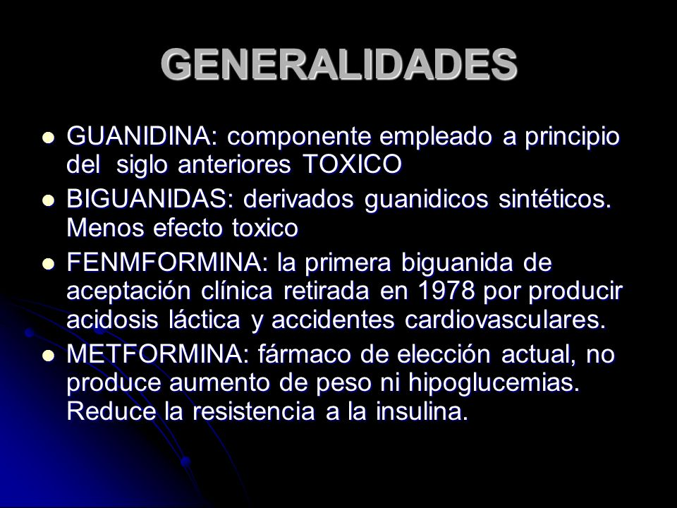 GENERALIDADES GUANIDINA: componente empleado a principio del siglo anteriores TOXICO.
