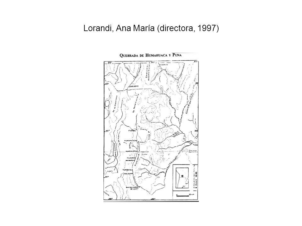 Lorandi, Ana María (directora, 1997)