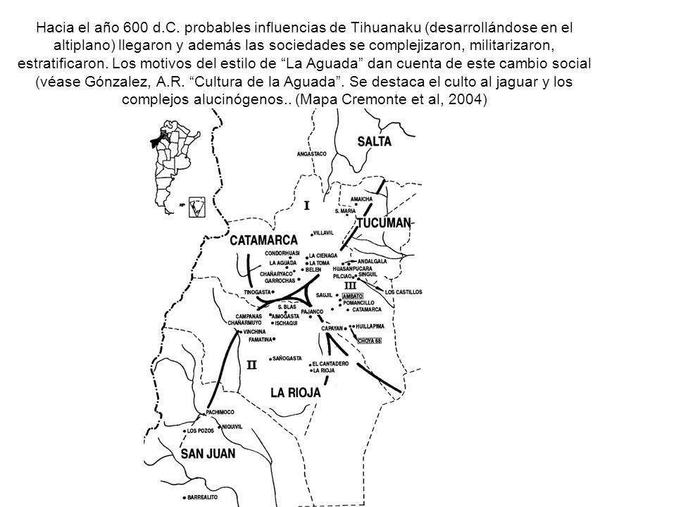 Hacia el año 600 d.C.