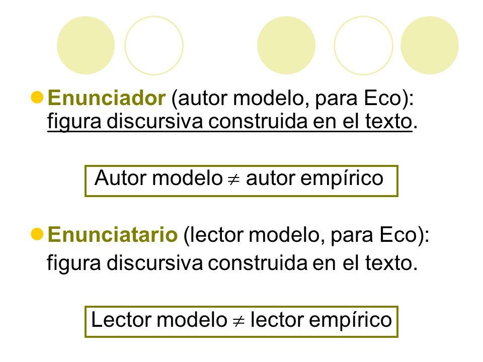 Lector modelo  lector empírico