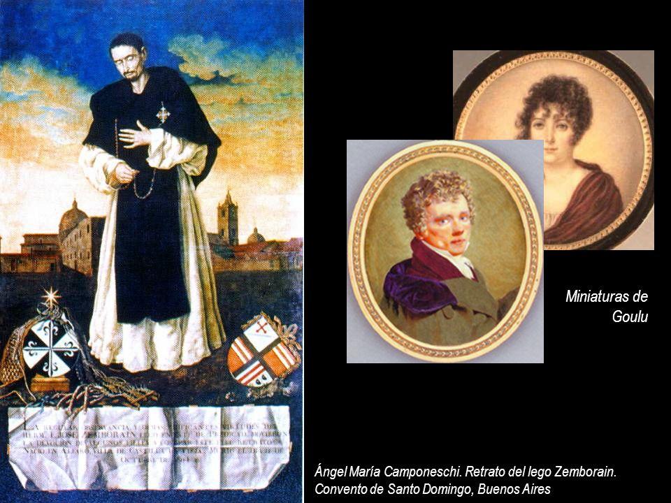 Miniaturas de Goulu. Ángel María Camponeschi. Retrato del lego Zemborain.