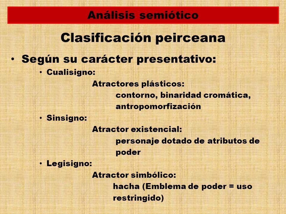 Clasificación peirceana