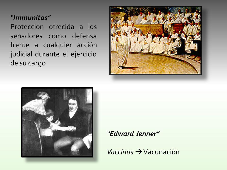 Immunitas Protección ofrecida a los senadores como defensa frente a cualquier acción judicial durante el ejercicio de su cargo.