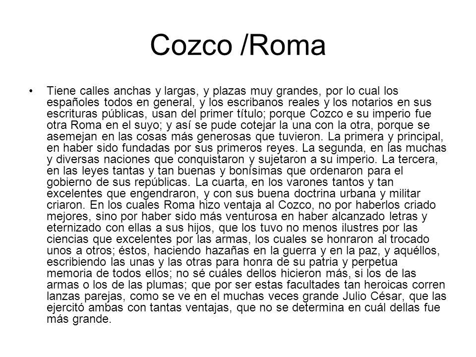 Cozco /Roma