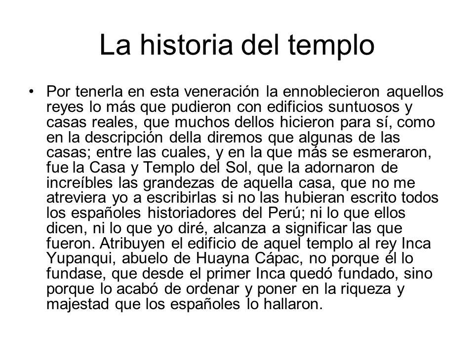La historia del templo