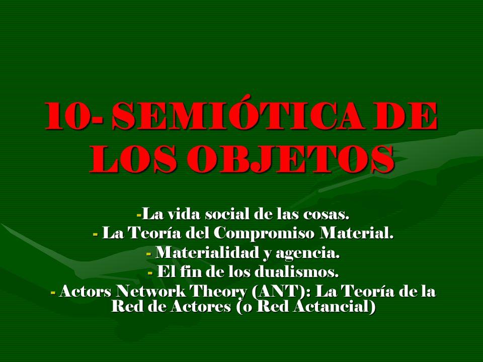 10- SEMIÓTICA DE LOS OBJETOS