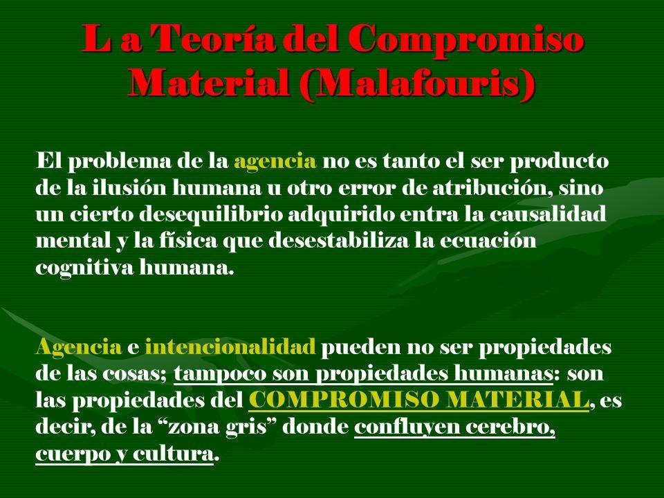 L a Teoría del Compromiso Material (Malafouris)