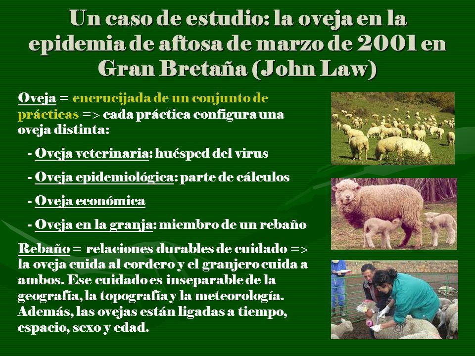 Un caso de estudio: la oveja en la epidemia de aftosa de marzo de 2001 en Gran Bretaña (John Law)