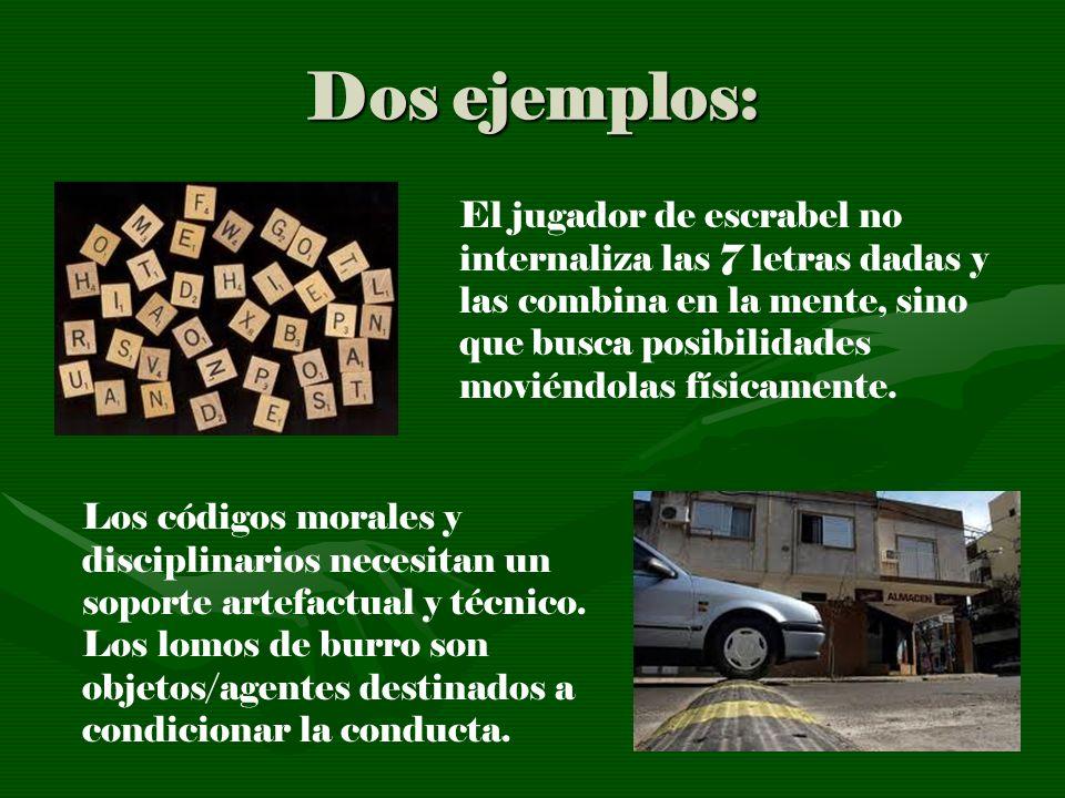 Dos ejemplos:
