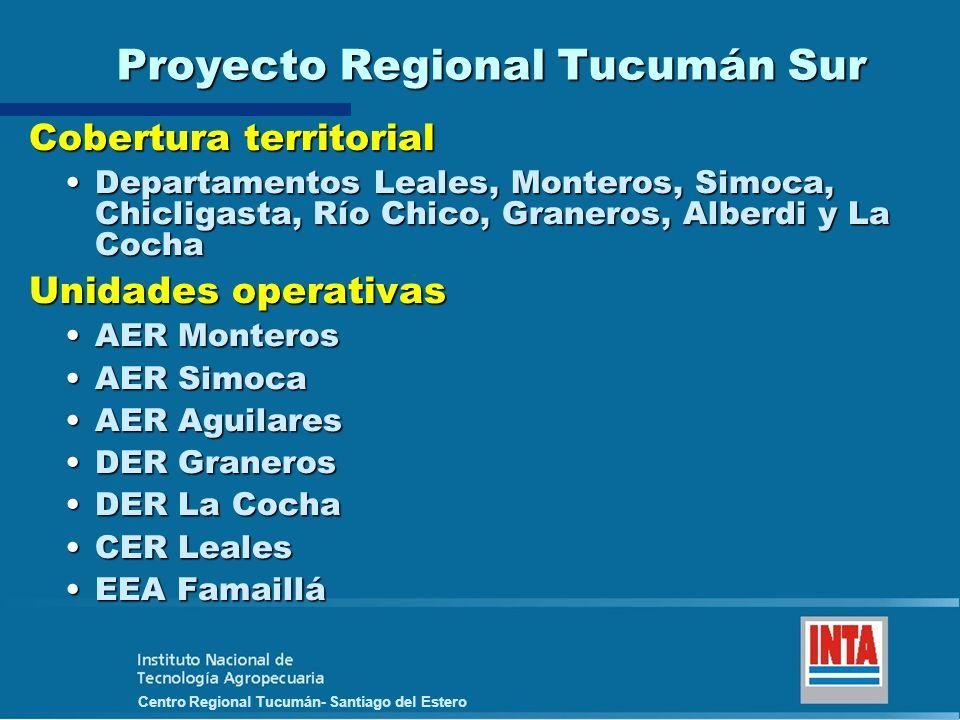 Proyecto Regional Tucumán Sur
