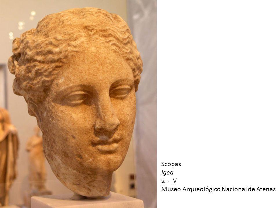 Scopas Igea s. - IV Museo Arqueológico Nacional de Atenas