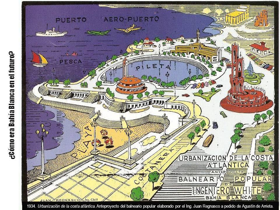 ¿Cómo era Bahía Blanca en el futuro