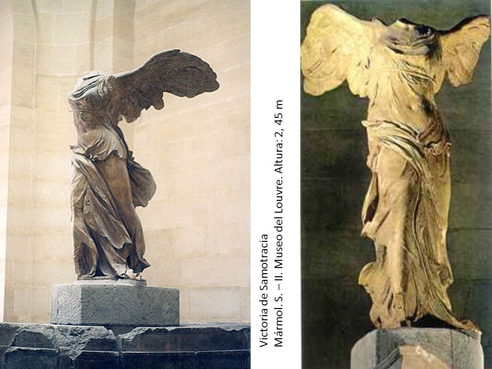 Mármol. S. – II. Museo del Louvre. Altura: 2, 45 m