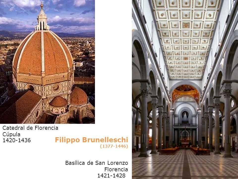 Filippo Brunelleschi Catedral de Florencia Cúpula 1420-1436