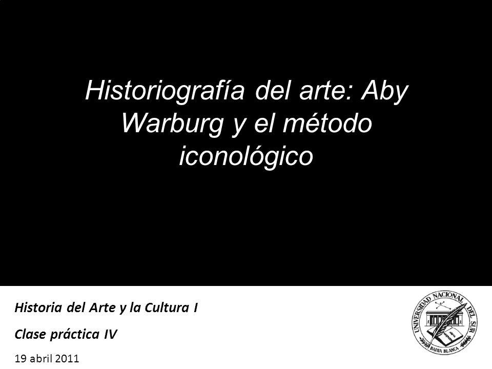 Historiografía del arte: Aby Warburg y el método iconológico