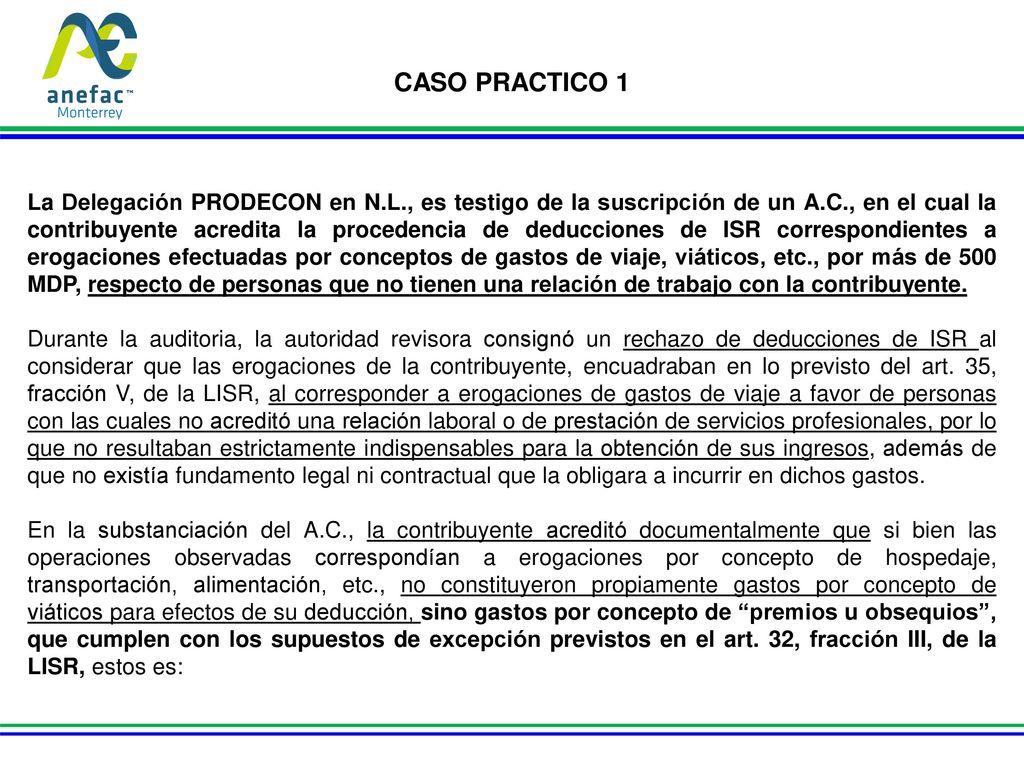 Caso practico 1 la delegaci n prodecon en n l es testigo de la suscripci n de un a c en el - Esquema caso practico trabajo social ...