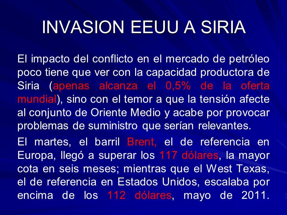 INVASION EEUU A SIRIA