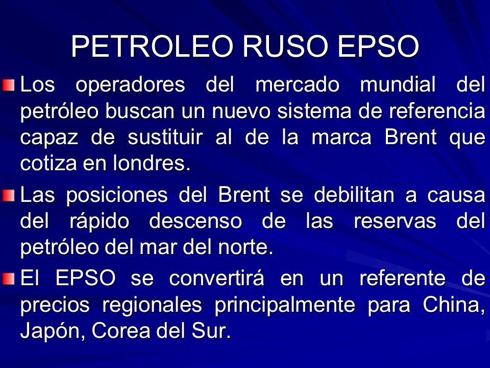 PETROLEO RUSO EPSO