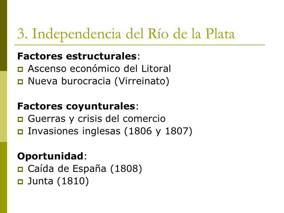 3. Independencia del Río de la Plata