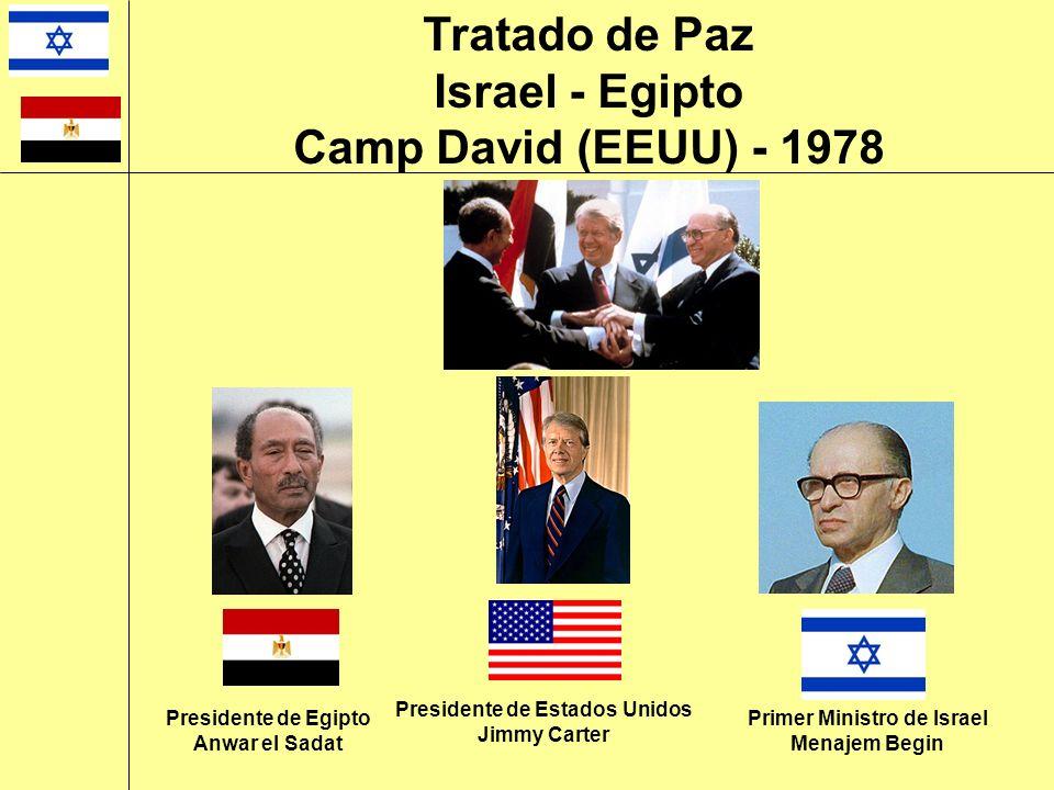 Presidente de Estados Unidos Primer Ministro de Israel