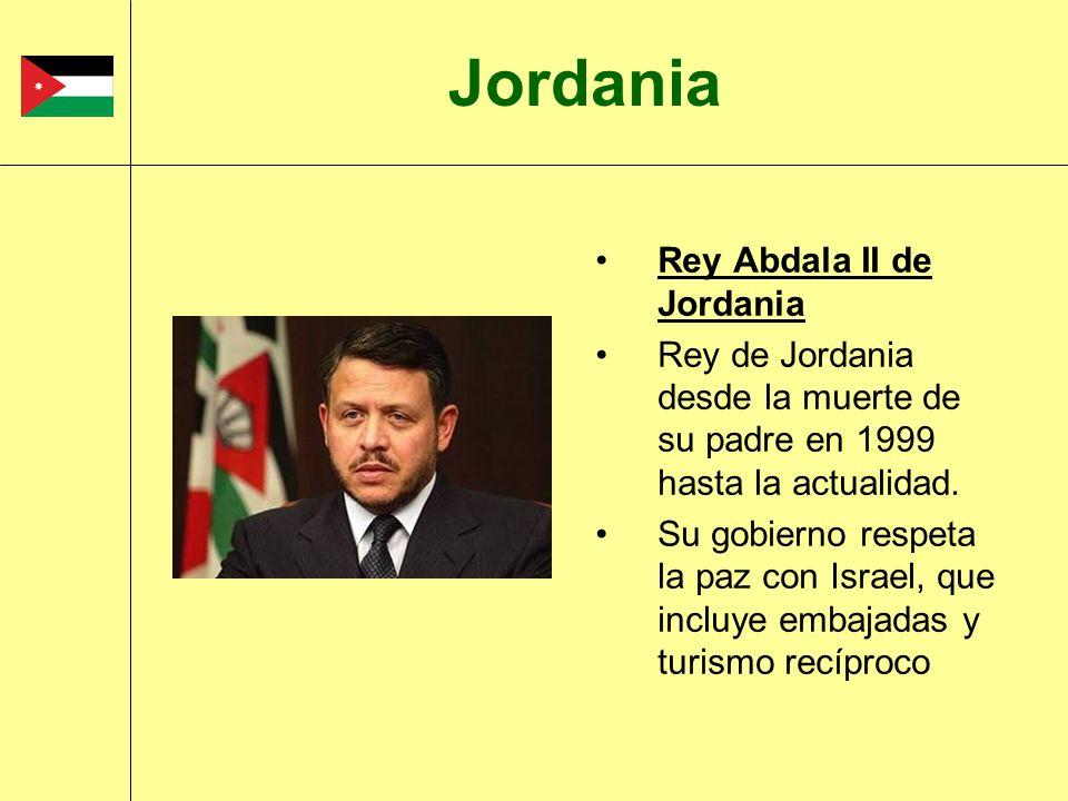 Jordania Rey Abdala II de Jordania