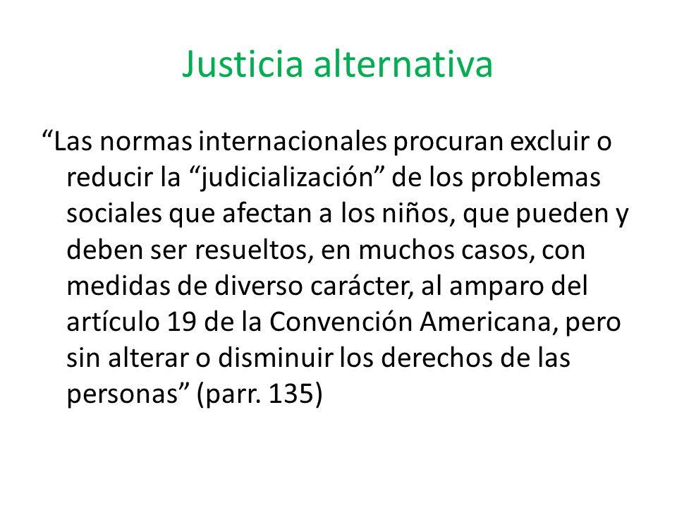 Justicia alternativa