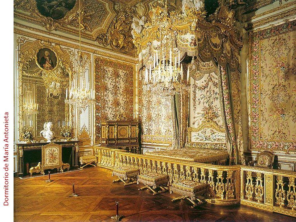 Dormitorio de María Antonieta