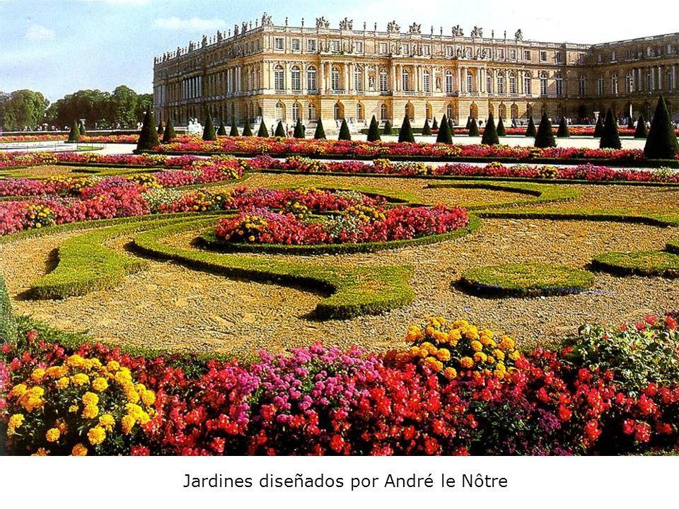 Jardines diseñados por André le Nôtre