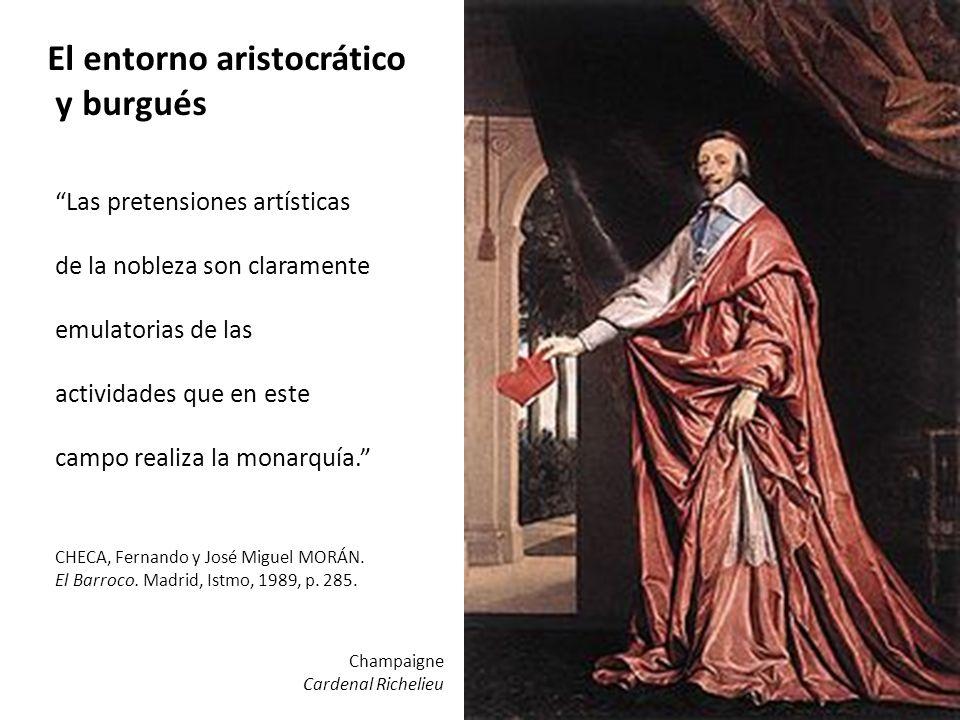 El entorno aristocrático y burgués