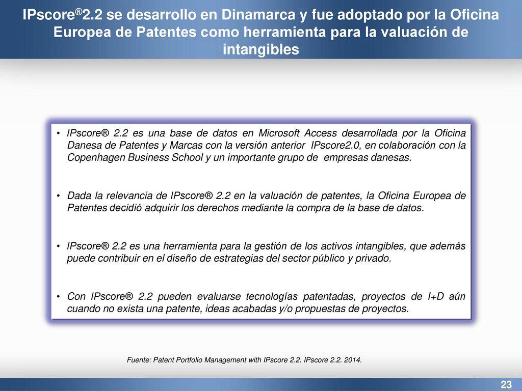 Estrategias de valuaci n de patentes en los procesos de transferencia de tecnolog a caso de - Oficina europea de patentes y marcas alicante ...