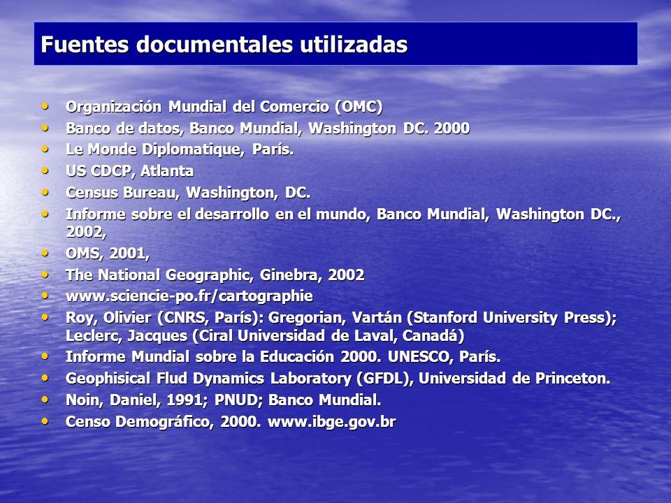 Fuentes documentales utilizadas