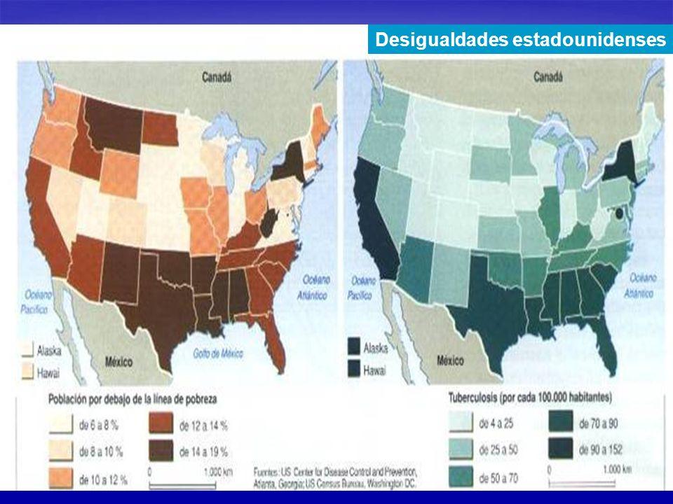 Desigualdades estadounidenses