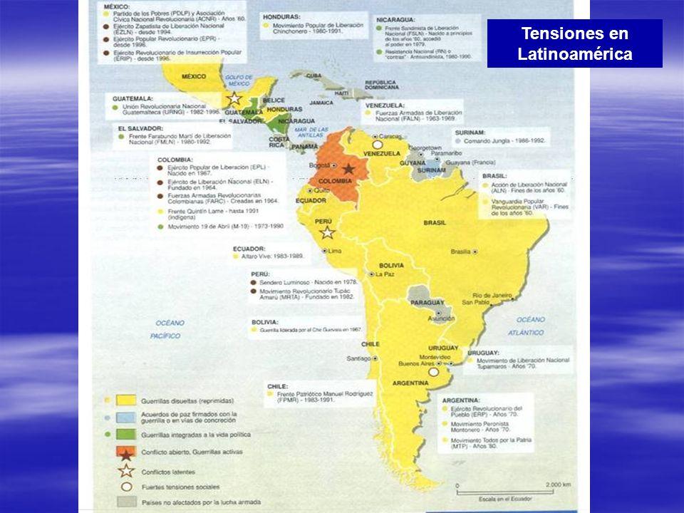Tensiones en Latinoamérica