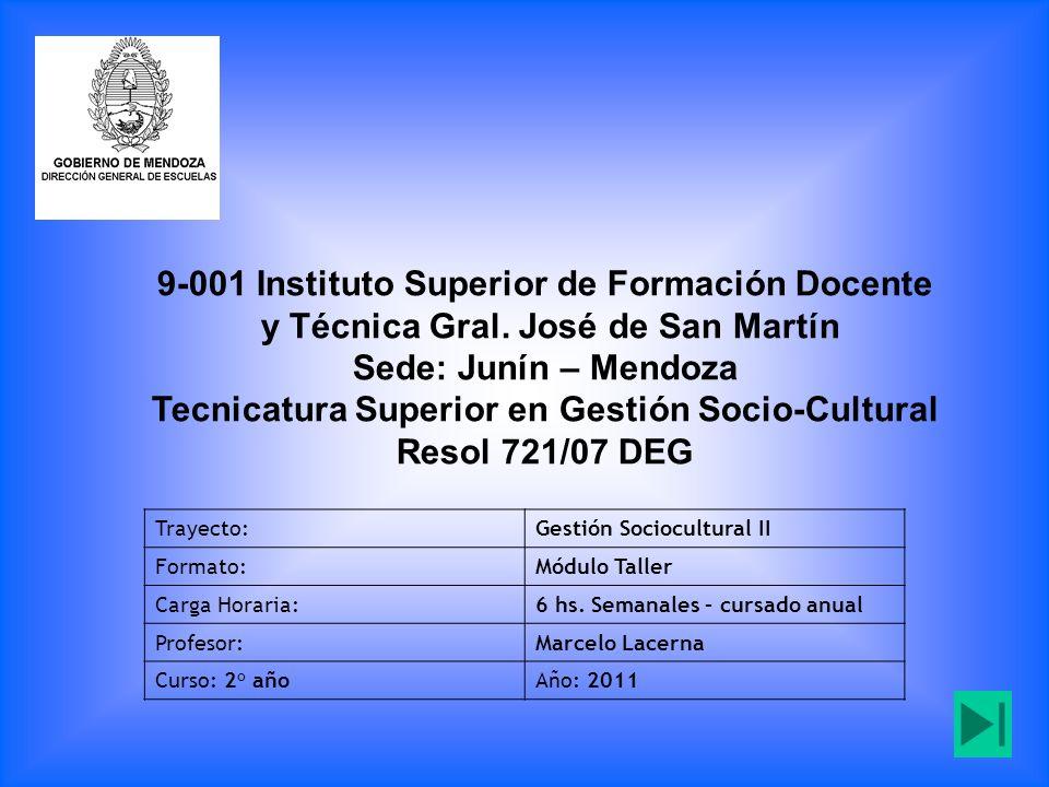 9-001 Instituto Superior de Formación Docente y Técnica Gral