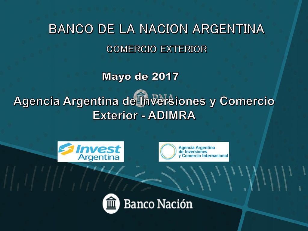 Banco de la nacion argentina ppt descargar for Banco exterior agencias