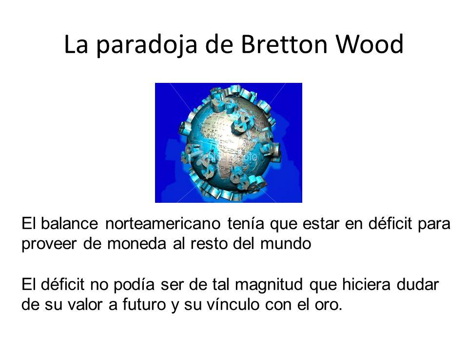 La paradoja de Bretton Wood