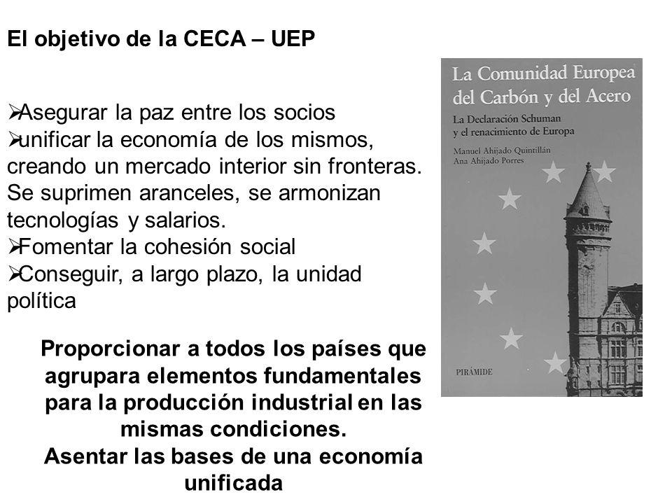 Asentar las bases de una economía unificada