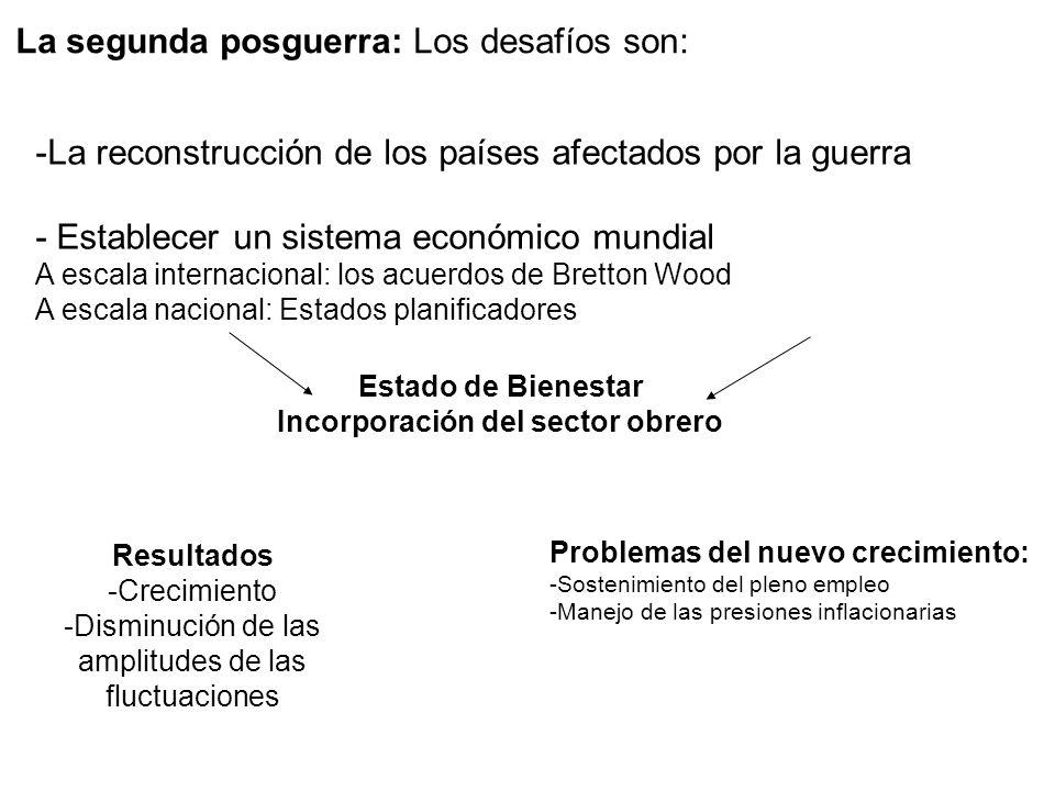 Incorporación del sector obrero