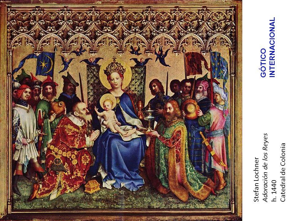 INTERNACIONAL GÓTICO Adoración de los Reyes Catedral de Colonia Stefan Lochner h. 1440